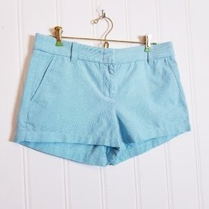 J.Crew Powdered Oxford City Fit Shorts Size 6